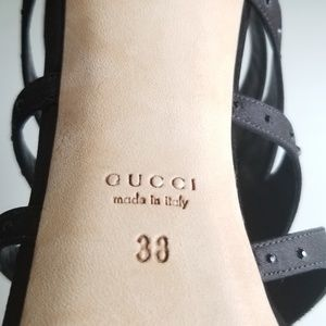 Gucci Shoes - Amazing! GUCCI Sandals with Crystals Size 8